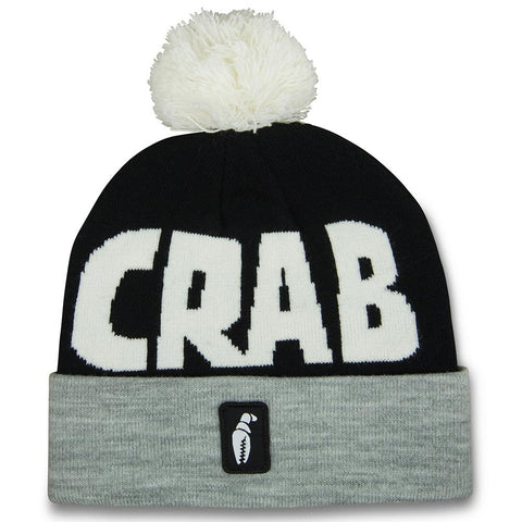 Crab Grab Crab Grab Pom Beanie Pure Board Shop
