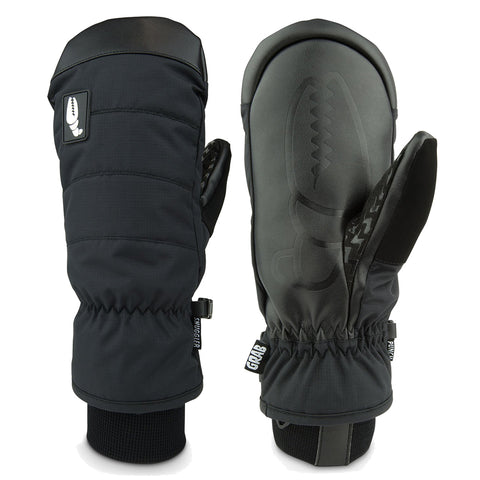 Crab Grab Smuggler Snow Mitten Black pure board shop