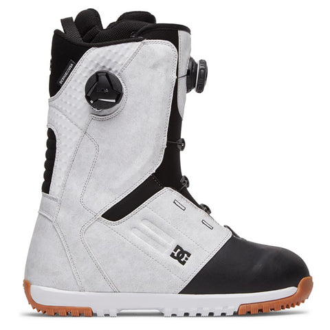 DC Control Double Boa Mens Snowboard Boots White pure board shop