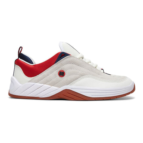 DC Williams Slim S Skate Shoes Navy Red adys100573 Stevie Williams Pure Board Shop