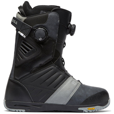 DC Judge Double Boa Mens Snowboard Boots 2019 Black BLK adyo100031 pure board shop
