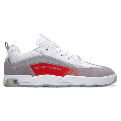 DC Shoes Legacy 98 Slim SE Skate Shoes White Grey Red adys100447 pure board shop