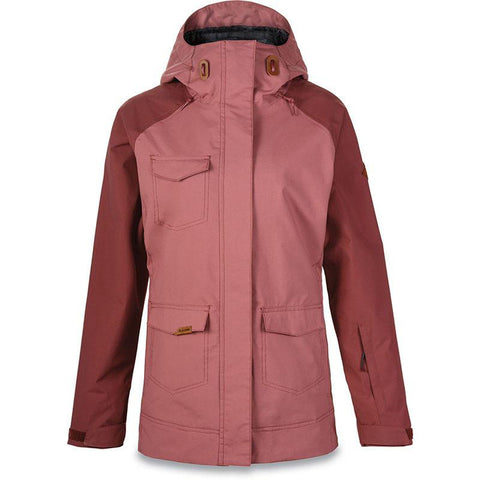 Dakine Canyons II Women's Snow Jacket 2018 Burnt Rose/Andorra pure board shop