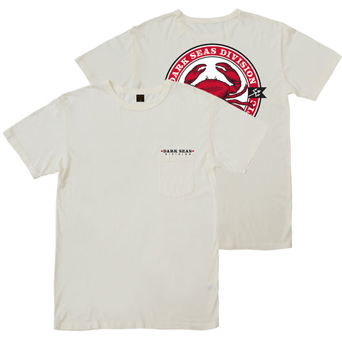 Dark Seas Chesapeake Pocket T Shirt Antique White 304900022_ANT_1 pure board shop