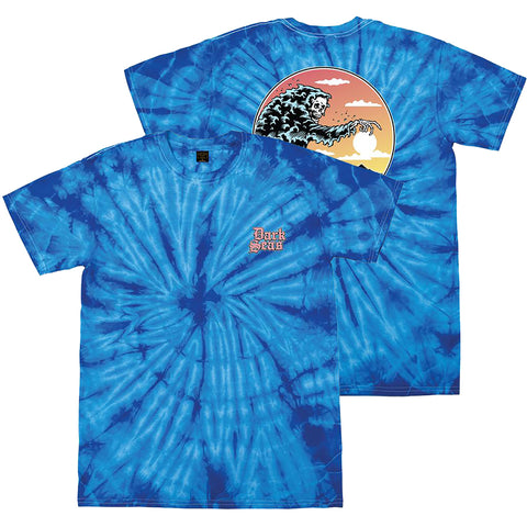 Dark Seas Close Out Tie Dye T-Shirt Royal Pure Board Shop
