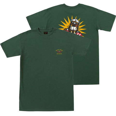 Dark Seas Defender Premium T Shirt Forest Green 304400316_FOR pure board shop