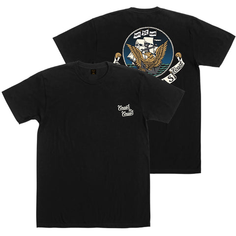 Dark Seas Dark Seas Interwoven Premium T-Shirt Pure Board Shop