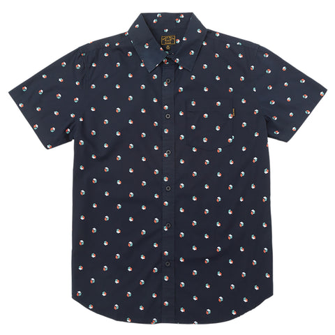 Dark Seas Dark Seas Molakai Short Sleeve Button Down Pure Board Shop