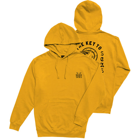 Dark Seas Unlock Pullover Hoodie Gold 301100102_GLD Pure Board Shop