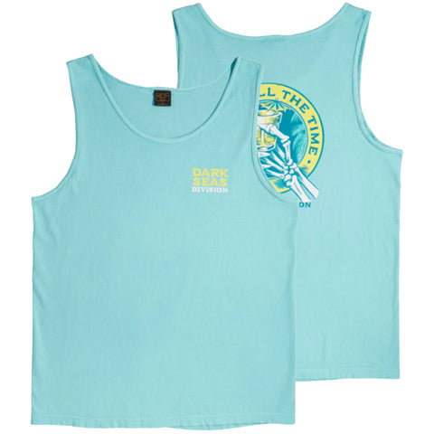 Dark Seas Lounge Time Tank Top Mint 302800002MNT Dark Seas Summer 2018 pure board shop