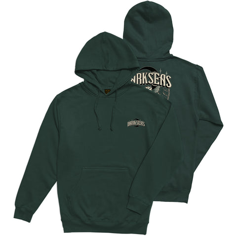 Dark Seas Wheelman Pullover Hoodie Forest Green 301100069 GRN Dark Seas Fall 2018 pure board shop