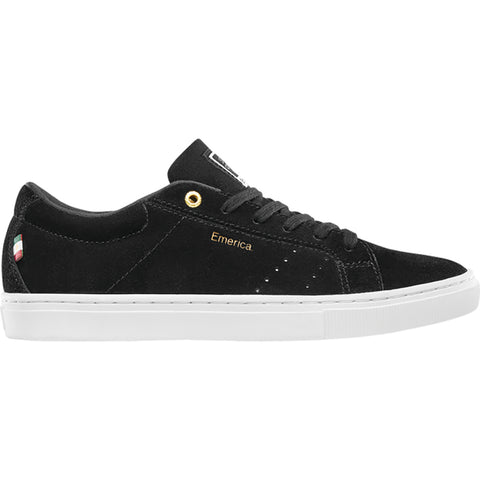 Emerica Americana Skate Shoes Black White 6102000125-715 pure board shop