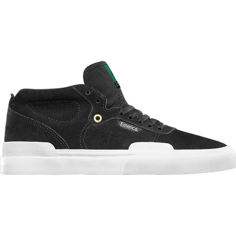 Emerica Pillar Skate Shoes Black White 6101000132-715 pure board shop