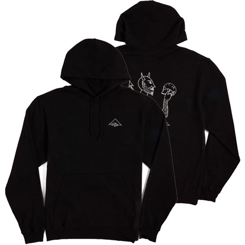 Emerica Dakota Servold Pullover Hoodie Black Pure Board Shop