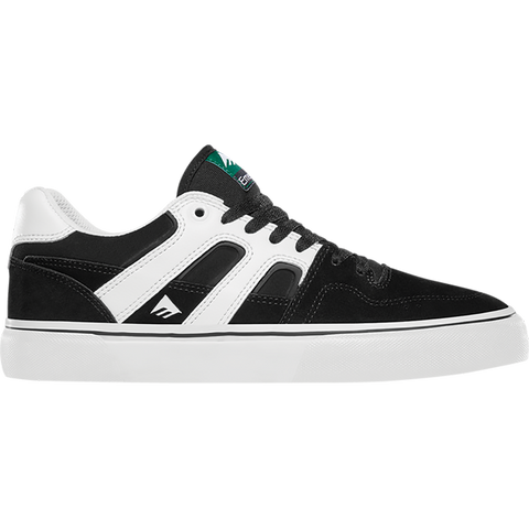 Emerica Tilt G6 Vulc Skate Shoes Black White 6101000138-976 pure board shop