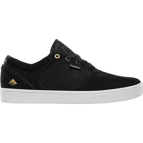 Emerica Figgy Dose Skate Shoes Black White 6102000123 715 pure board shop
