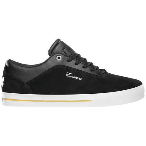 Emerica G-Code X Vol 4 Skate Shoes black white gold pure board shop