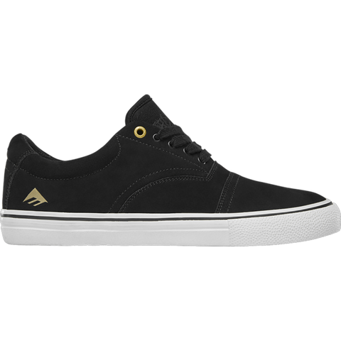 Emerica Provider Skate Shoes Black White Gold 6102000127 715 Colin Provost Pro Model Skate Shoe pure board shop