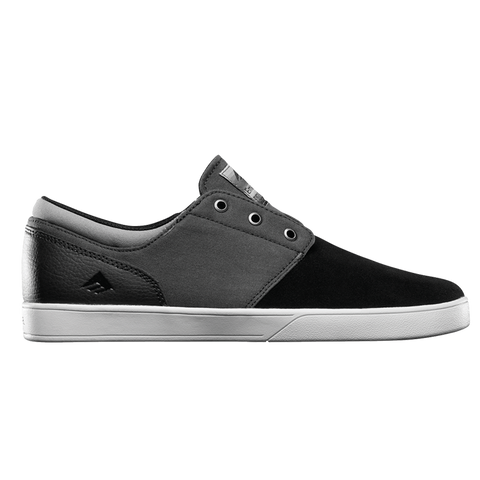 Emerica The Figueroa Skate Shoes Black Grey White
