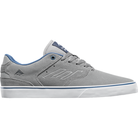 Emerica The Reynolds Low Vulc Skate Shoes grey blue 6102000096 094 pure board shop
