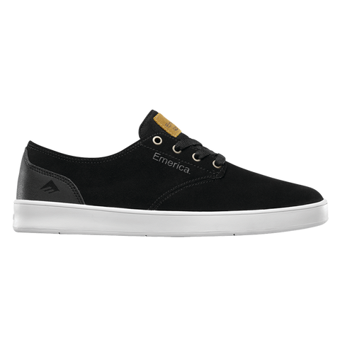 Emerica The Romero Laced Skate Shoes black black white 6102000089 552 pure board shop