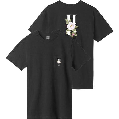 HUF  Central Park Pocket T Shirt Black pure board shop