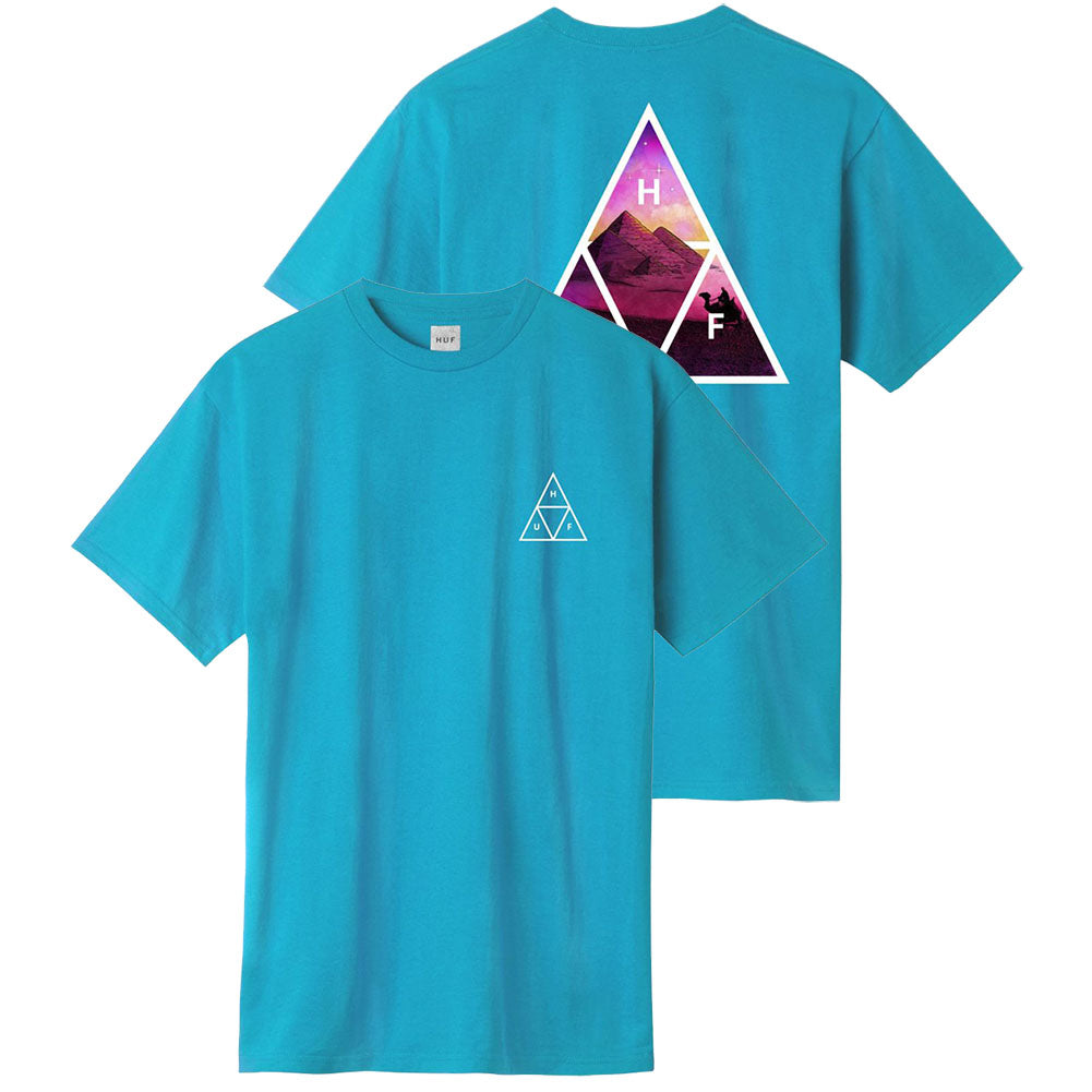 HUF Mirage Triple Triangle T-Shirt