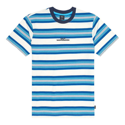 HUF Travis Knit T Shirt Olympian Blue KN00165_OLBLU_01 pure  board shop