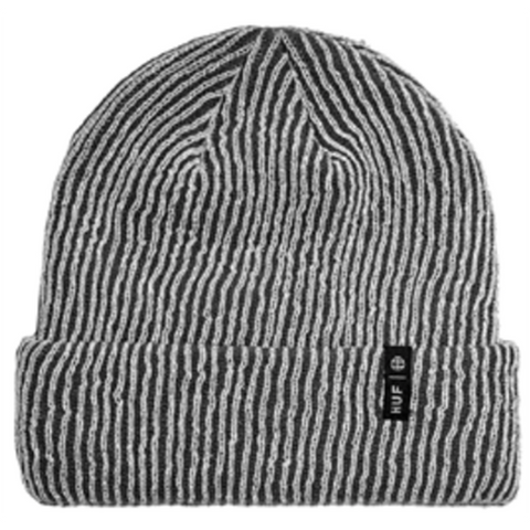 HUF Reflective Beanie Grey - Pure Boardshop