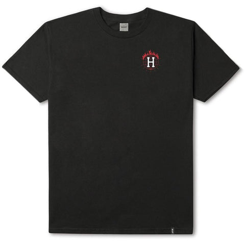 HUF X Thrasher Tour De Stoops T-Shirt Black