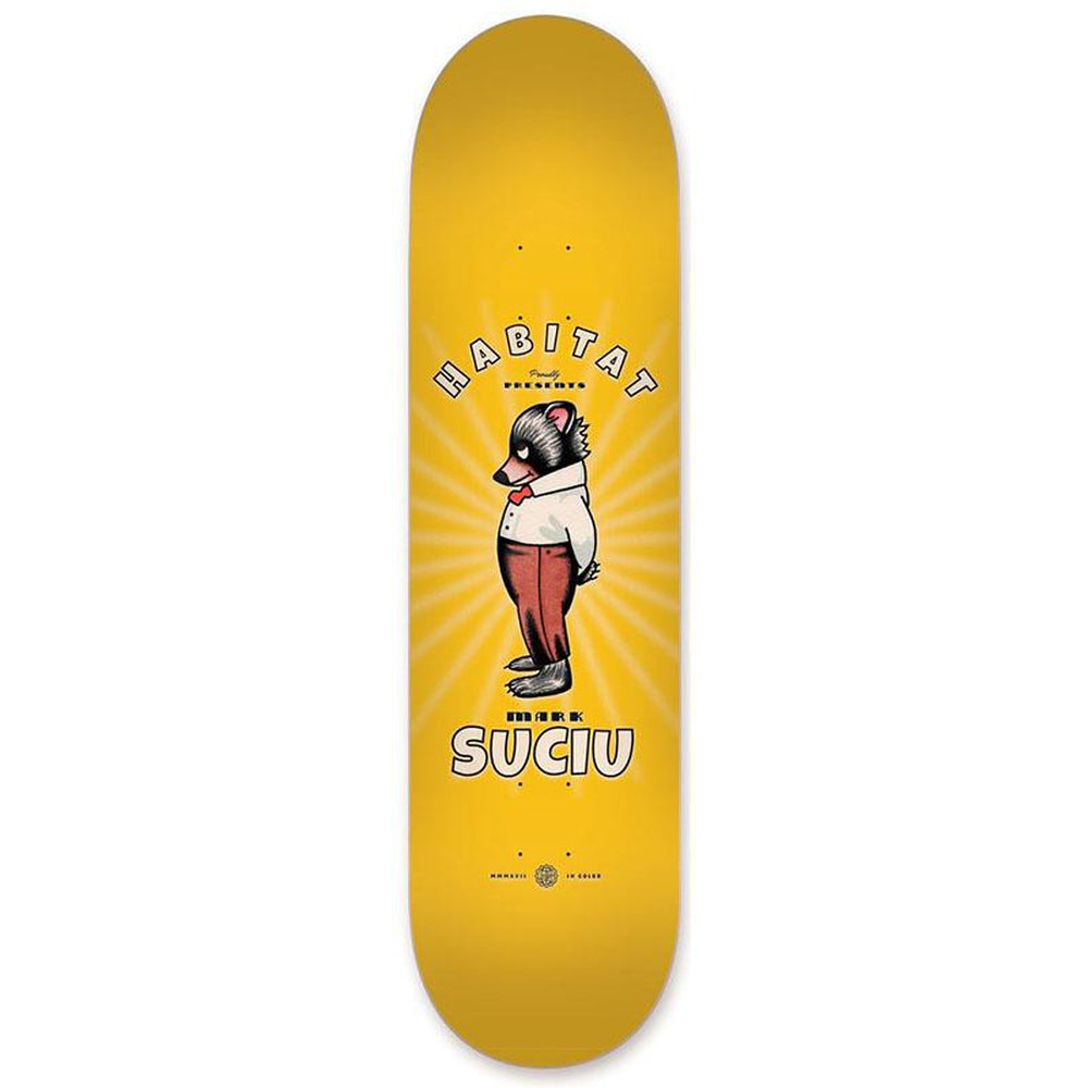 Habitat Suciu Celluloid Series Skateboard Deck 8\