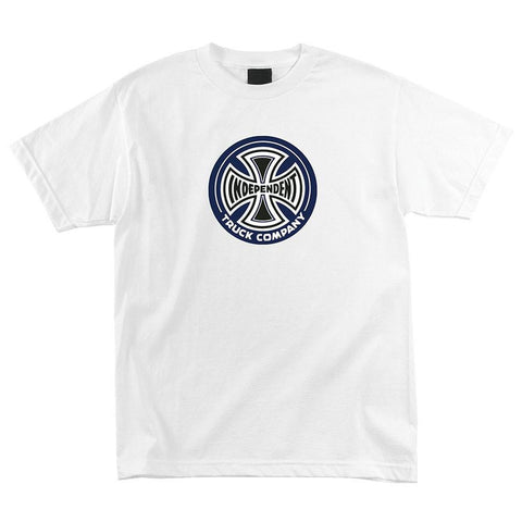 Independent 88 T-Shirt White pure board shop