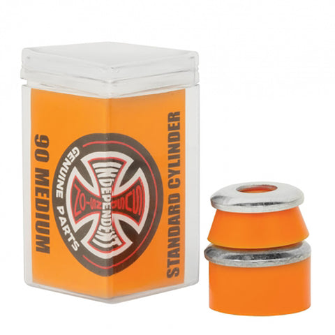 Independent Cylinder Skateboard Bushings Orange Medium 90a pure board shop