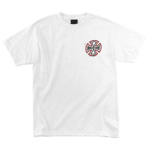 Independent Speeding Cross T-Shirt White