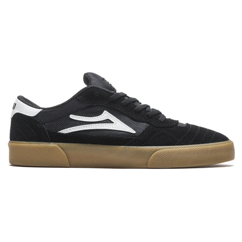 Lakai Cambridge Skate Shoes Black White Gum Suede MS3200252A00_BLKGS pure board shop