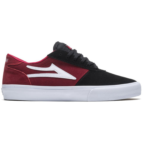 Lakai Manchester Skate Shoes Black Red Suede MS4200200A00_BKRES pure board shop