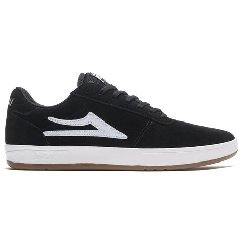 Lakai Manchester XLK Skate Shoes Black White Suede MS3200200B00_BLKSD pure board shop