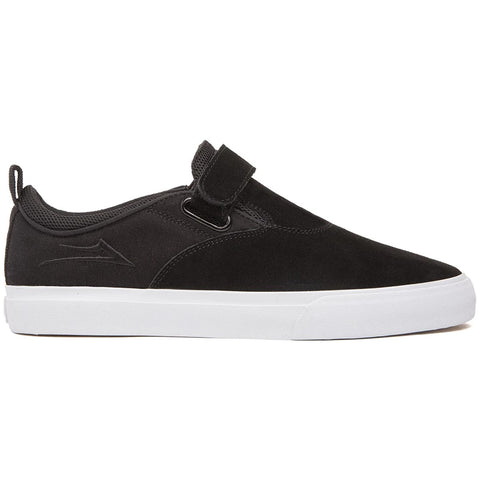 Lakai Riley 2 VS Skate Shoes Black White Suede MS2200092A00_BLKSD