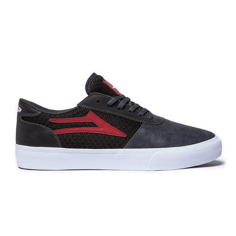 Lakai X Choccolate Manchester Skate Shoes Grey Reflective Suede MS2200200A03_GYRFS pure board shop