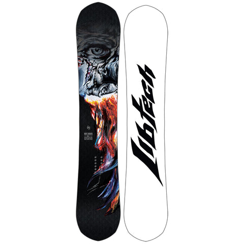 Lib Tech Hot Knife Mens Snowboard 2019 18SN044 White Base Mervin Manufacturing pure board shop