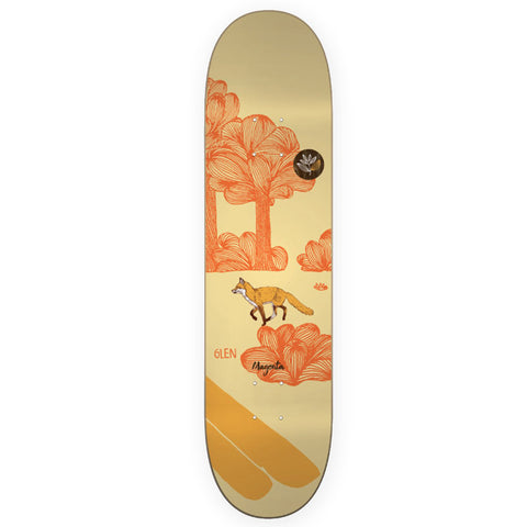 Magenta Glen Fox Leap Skateboard Deck 7.75
