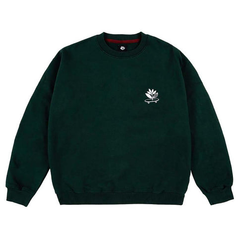 Magenta Cruise Crewneck Sweatshirt Green Pure Board Shop