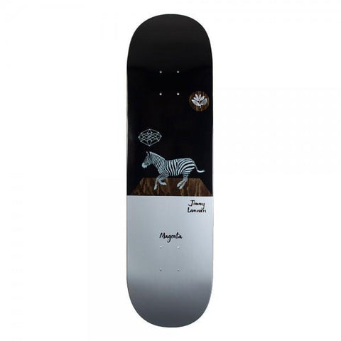 Magenta Jimmy Lannon Zebra Skateboard Deck pure board shop