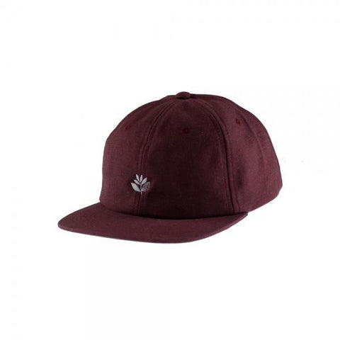 Magenta Plant 6 Panel Hat Rust pure board shop