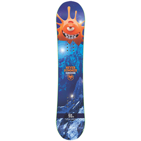 Never Summer Shredder Kids Snowboard 2019 90cm QSHR Never Summer 2018 2019 pure board shop