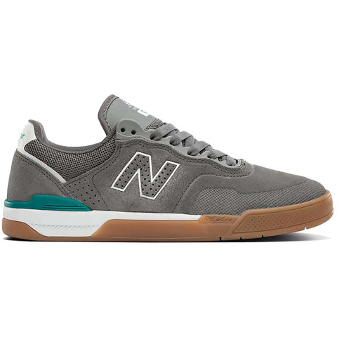 New Balance Numeric 913 Brandon Westgate Skate Shoes Castlerock White nm913gyt pure board shop