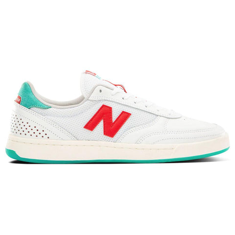New Balance Numeric 440 Tom Knox Skate Shoes White Red nm440tkx Pure Board Shop