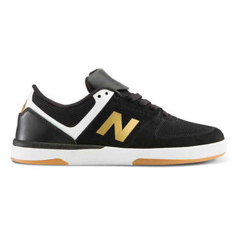 New Balance Numeric PJ Ladd 533 V2 Skate Shoes black white gold pure board shop