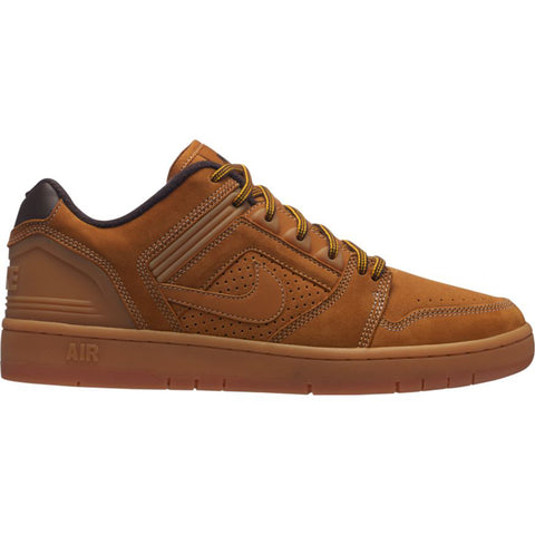 Nike SB Air Force 2 Low Premium Skate Shoes Bronze Bronze Barboque Brown Timberland AV3801-772 pure board shop