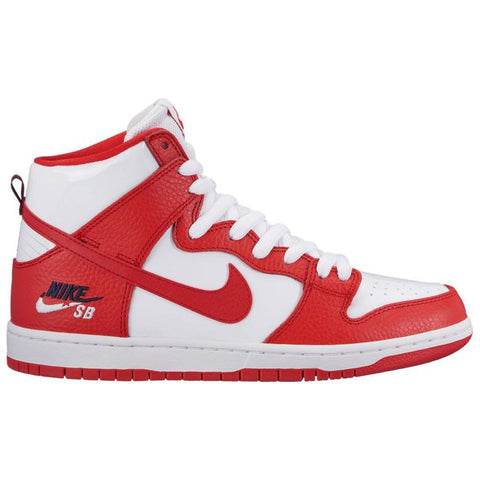"Nike SB Zoom Dunk High Pro ""Future Court"" University Red/University Red-White 854851-661 pure board shop"